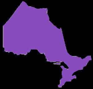 Map of bad credit car loans in Ontario, financing a car in Ontario & auto loan solutions Ontario