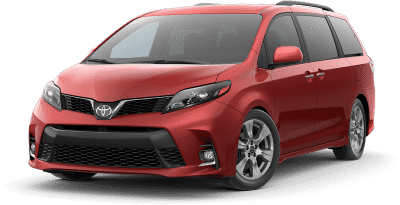 Red van from bad credit car loans in Canada